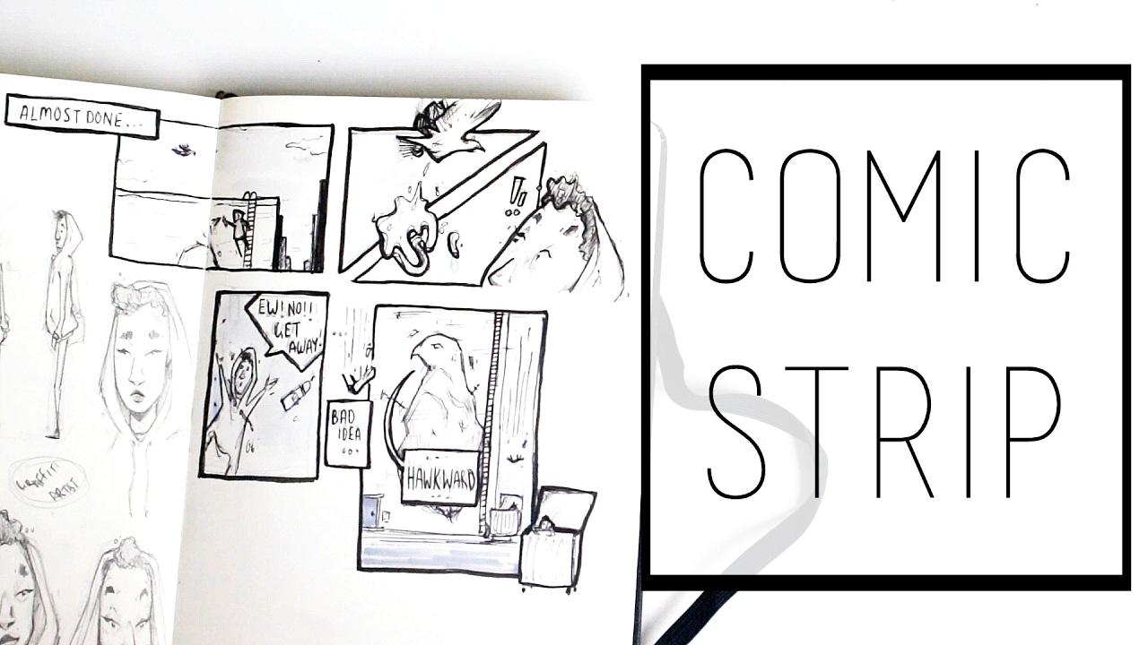 Creating a Comic Strip · 30 Ways to Fill a Sketchbook · SemiSkimmedMin