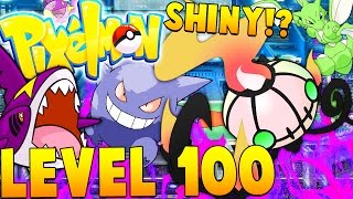 OP SHINY POKEMON (LEVEL 100) | Minecraft - Pixelmon Mod Battle