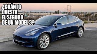 ¿Cuánto cuesta el seguro del Model 3?