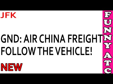 Air Traffic Control: Horrible English by Air China pilot... AGAIN!!!
