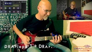 MOOER GE300 vs REAL AMP with DRAPsound patches!