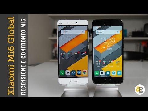 RECENSIONE Xiaomi Mi6 GLOBAL e CONFRONTO Mi5