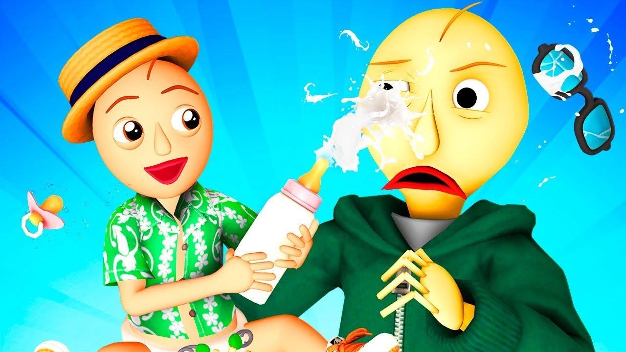 Baldi's Baby – La película (Baldic Español Todos Los Capítulos Bob Animación SCP Freddy Krueger 3D)