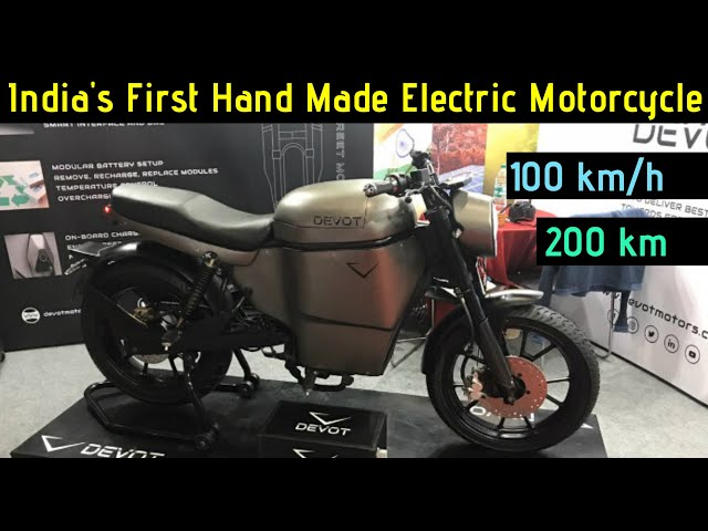 India's First Hand Made Electric Motorcycle | Devot Motors