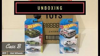 Unboxing - Hot Wheels Case B 2019