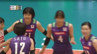Japan vs Germany | Montreux Volley Masters 2019