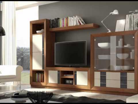 muebles de salon con vitrinas youtube