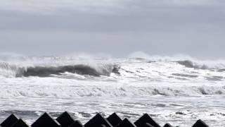 2015.8.23 北海道根室市フレシマ海岸での大波です.