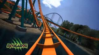 Cedar Point Rougarou POV On Ride Animation Roller Coaster New For 2015! Goodbye Mantis!