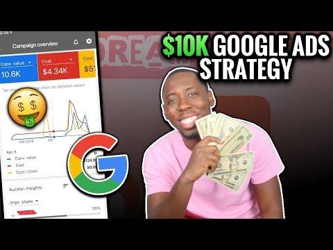 10K Google Smart Shopping Ads Shopify Dropshipping Strategy ( Google Ads 2019 ) thumbnail