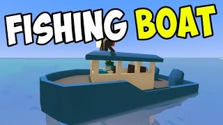 "UNTURNED - ""Smurfy Fishing Boat!!"" Episode 71 (Unturned Role-play Hawaii Playthrough)"