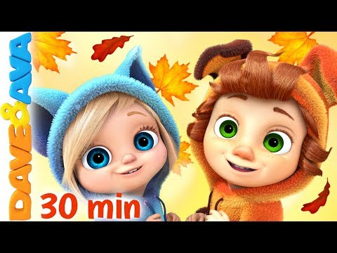 🍁 Nursery Rhymes & Kids Songs | Baby Songs | Dave and Ava 🍁