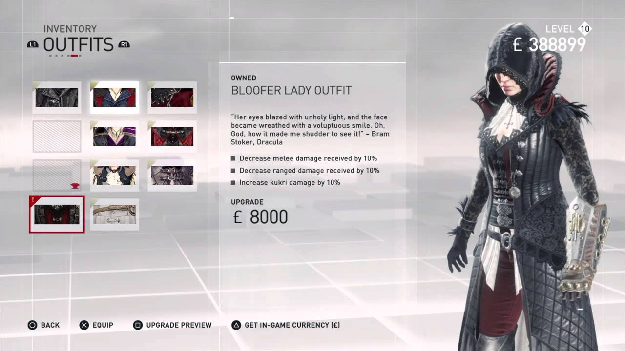 assassins creed syndicate evie victorian outfit