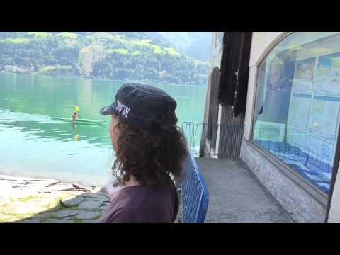 A Day in Lively and Beautiful Zell am See, Austria - Part I