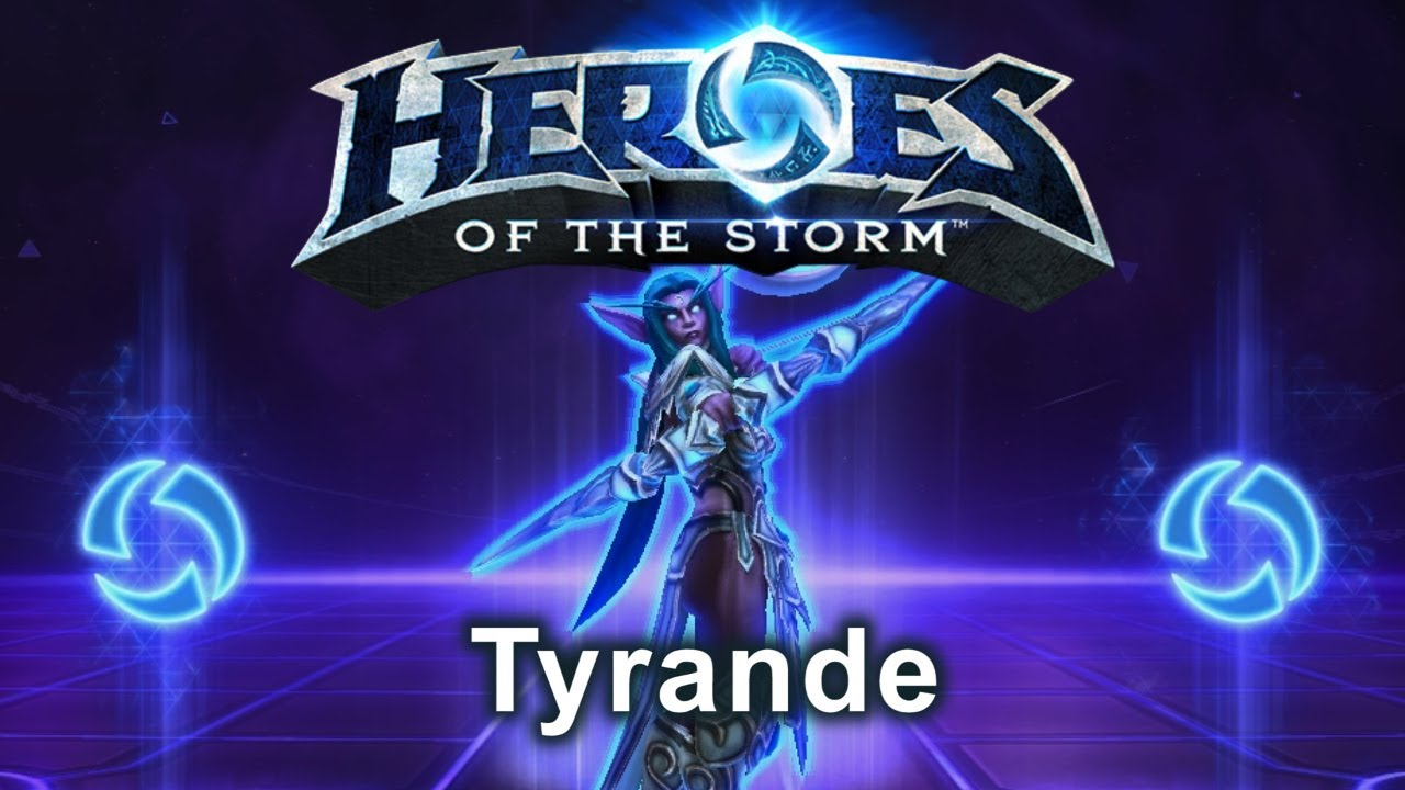 Heroes Of The Storm Tyrande Gameplay Youtube Tyrande whisperwind is an alternate hero for the priest class. youtube