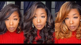 "Under $30 Valentines Day Glam Wig 1 Style 3 Colors Freetress ""Vina"" Divatress.com"