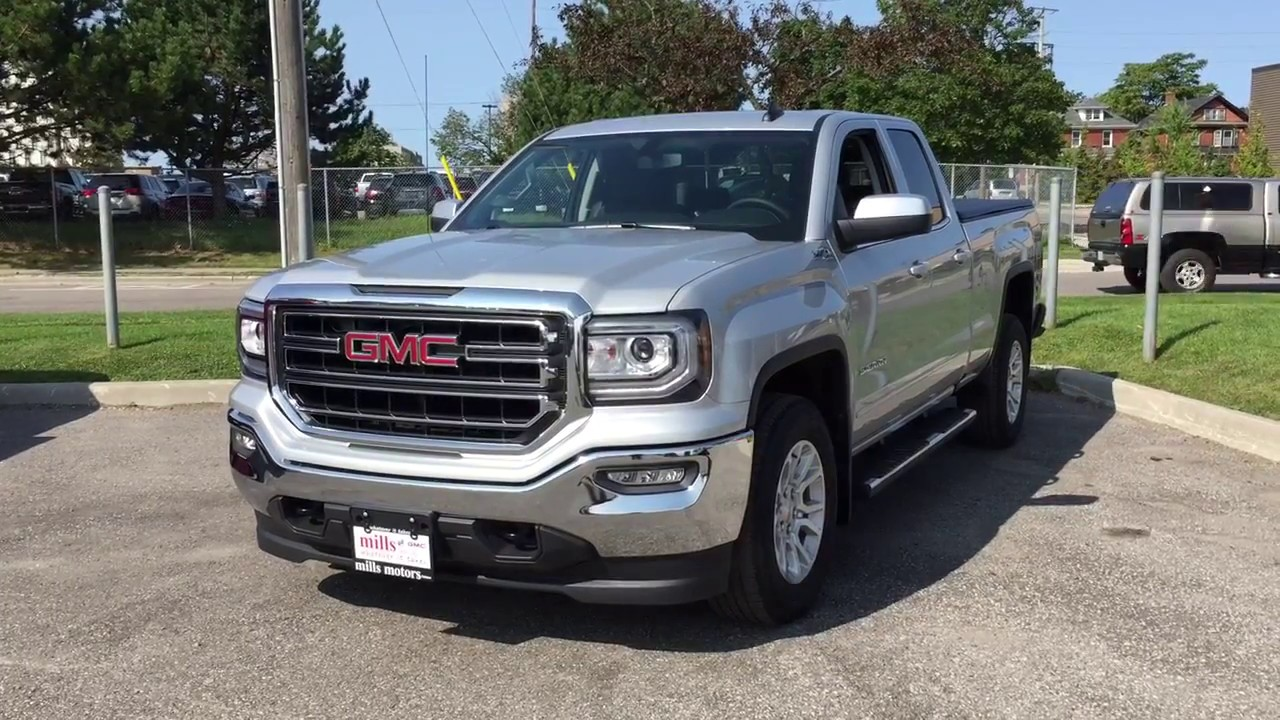 2018 Gmc Sierra 1500 Sle 4wd Double Cab Z71 Suspension