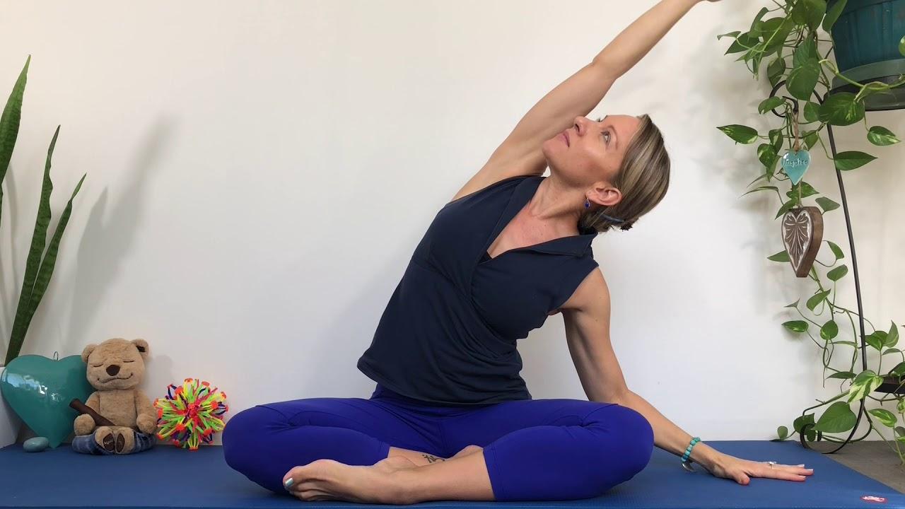 Circle of Joy Yoga Warm Up