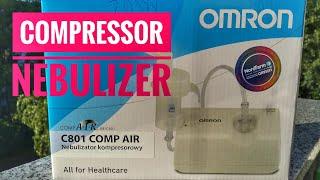 OMRON Comp Air NE-C801 Compressor Nebulizer Healthcare [4K UltraHD]