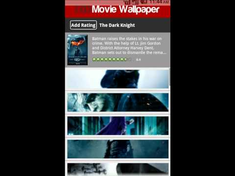 HD Movie Wallpaper - Android