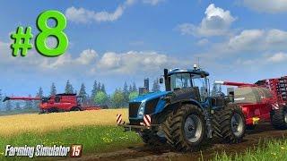 Farming Simulator 2015 Обучение, урок 8 Транспортировка тюков