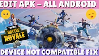 How to Play Fortnite on Incompatible Android Devices | EditApk