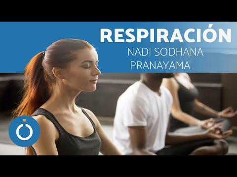Ejercicios de Yoga respiración Nadi Sodhana Pranayama