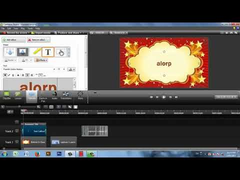 How to Record Computer Screen and Edit Videos with Camtasia Studio in Bangla   Make a Video Tutorial