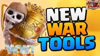 (Hindi) NEW CLAN WAR TOOLS UPDATE 2018 FULL EXPLAINED CLASH OF CLANS by WORLD WIDE tech