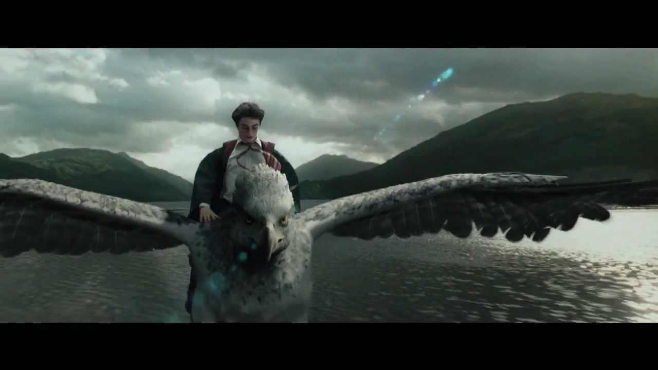 Hippogriff Buckbeak Flying