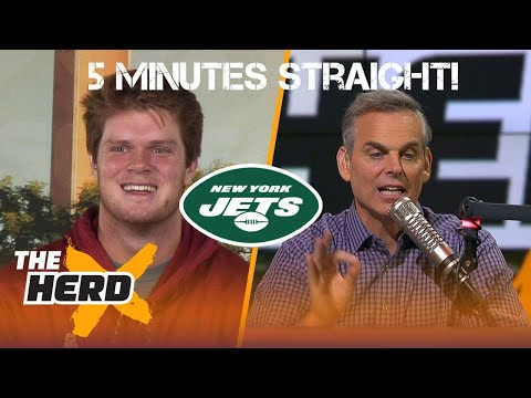 5 Minutes of Colin Cowherd Crushing on Sam Darnold