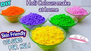 DIY Eco-Friendly Holi Colours