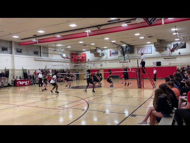 2019 NJ Boys Volleyball, Central  Semi-Final, Game2