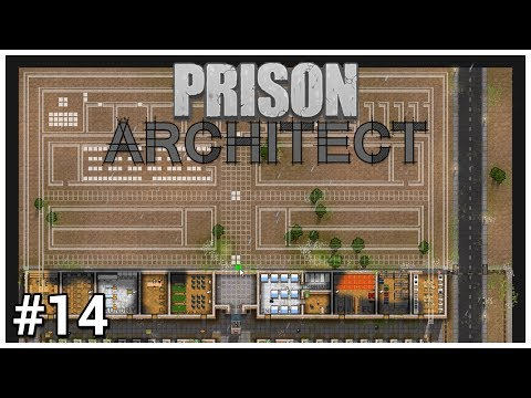 Prison Architect Update 12 - #14 - Land Expansion - Let's Play / Gameplay / Construction