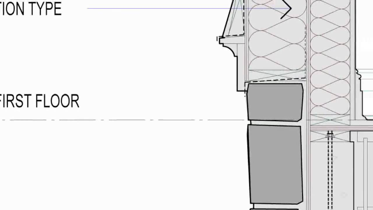 architecture section diagram top hat trailer wiring how to draw like an architect pt 3 the wall youtube
