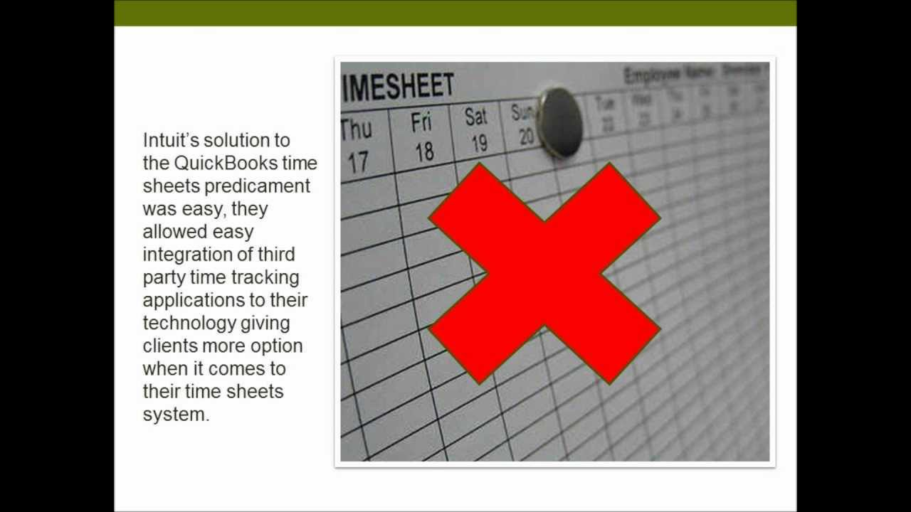 unleash the power of quickbooks time sheets with third party time