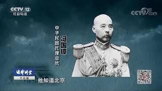 《法律讲堂(文史版)》 20190826 北洋乱局(二十一)冯国璋进京| CCTV社会与法
