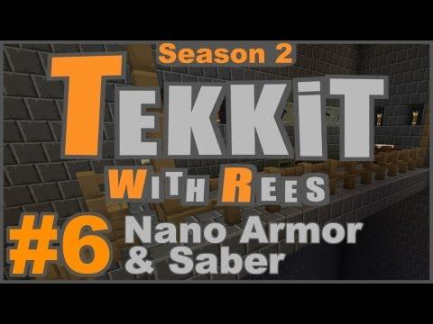 Tekkit Classic - Episode 6: Nano Armor & Saber