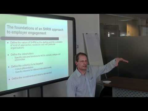 Dr Richard Pettinger: Employer Engagement - A Strategic Human Resource Perspective