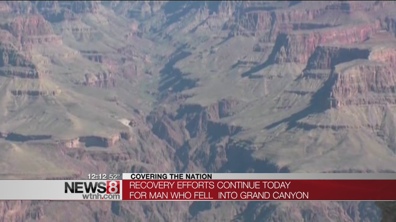 man dies after falling 400 feet off grand canyon s south rim youtube. Black Bedroom Furniture Sets. Home Design Ideas