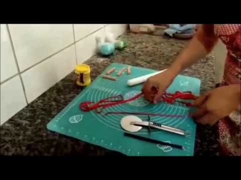 Pap Como Fazer Serpentina Com Pasta Americana Bolos Decorados