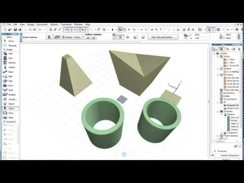 The ARCHICAD MORPH Tool – Introduction