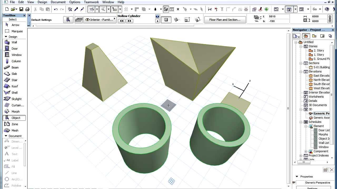 archi cad how to add tools