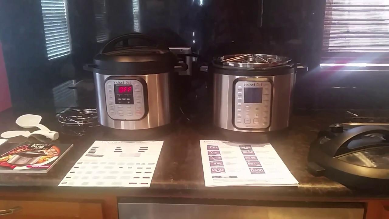Instant Pot Ip Duo 60 7 In 1 Vs New Instant Pot Duo Plus