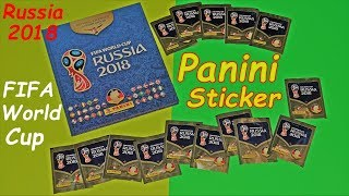 Panini Sticker Fifa World Cup Russia 2018 Boosterbox new stickers Paninialbum Luckybag Fifa WC ´18