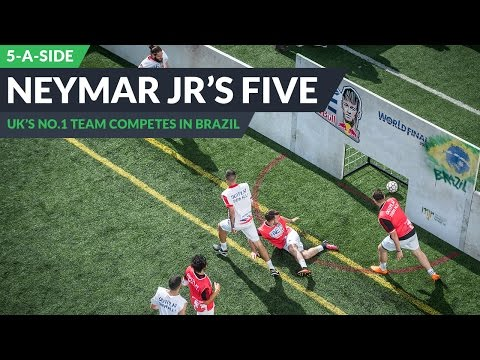 Best 5-a-side team in the UK play at the Neymar Jr's Five