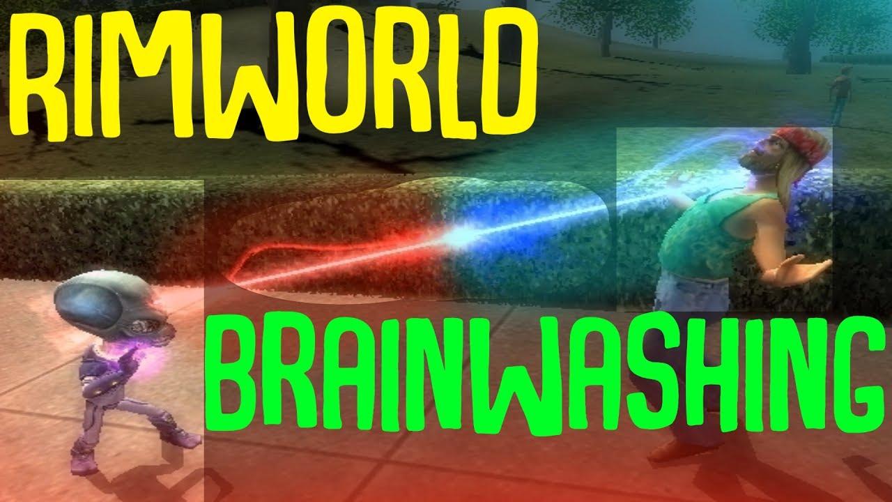 Brainwashing Colonists! Rimworld Mod Showcase