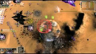 Supreme Commander Epic #28 - Custom 4v4 Hilly Plateau