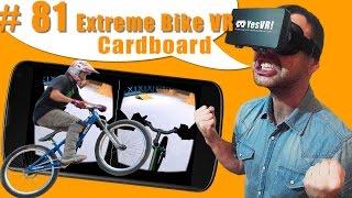#81 Катаем на BMX-велосипеде в Виртуальной реальности в Экстрим-парке! Видео Обзор VR игры(Обзор ВР приложения Extreme Bike VR - Cardboard! Пробуем катать в бэмиксе в виртуальной реальности! Внимание! Для игры..., 2015-11-14T17:50:57.000Z)