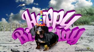 Teckel Dog / Dachshund [for Her] - Happy Birthday